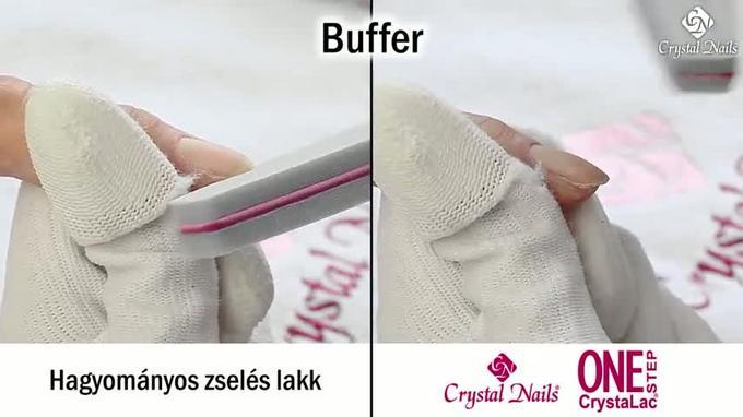 Hagyományos zselés lakk vs. One Step CrystaLac