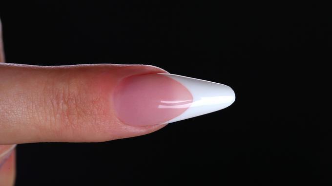 Klasszikus mandula köröm építése az új,Easy Powder porcelánporokkal