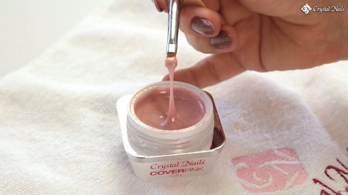 Cover Pink Diamond építő zselé