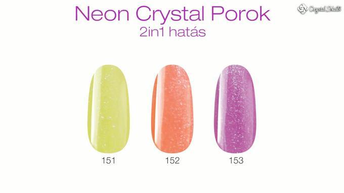 Neon Crystal Porcelánporok