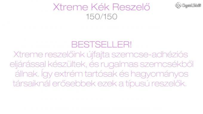 Xtreme íves-egyenes kék zebra reszelő