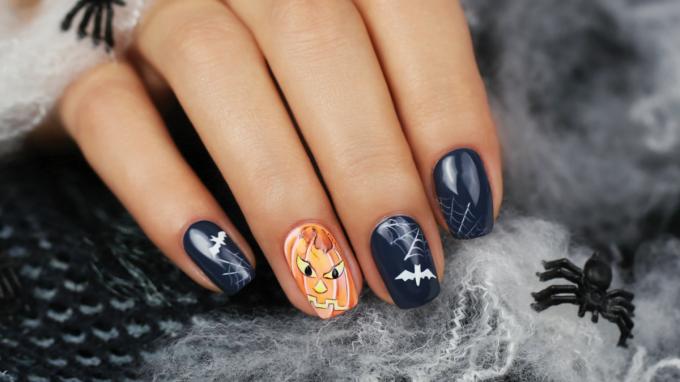 Halloweeni díszítés