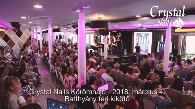 Crystal Nails Körömhajó 2018. Tavasz