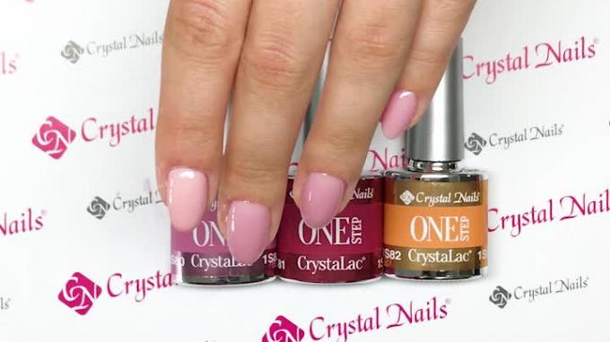 Crystal Nails 2019. Ősz/Tél - Új ONE STEP Crystalac-ok
